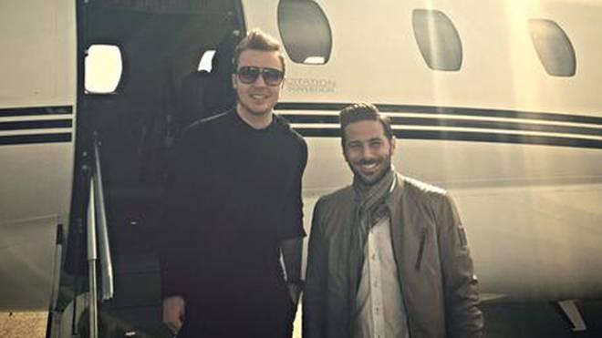 Mario Götze und Claudio Pizarro jetteten kurzerhand nach Hannover auf die CeBIT.