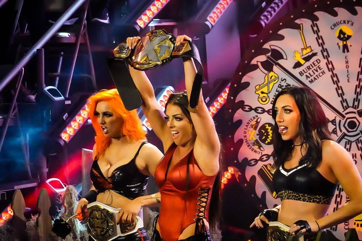 Beim WCW-Revival Halloween Havoc setzt WWE bei NXT 2.0 auf Titelwechsel. Insbesondere die Frauen-Division rückt dabei in den Fokus