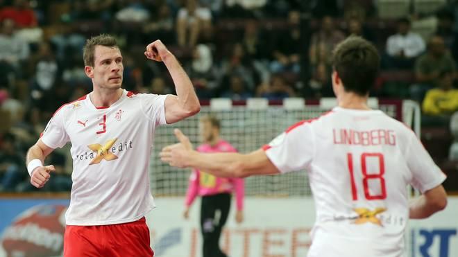 Dänemark setzte sich gegen Kroatien durch
