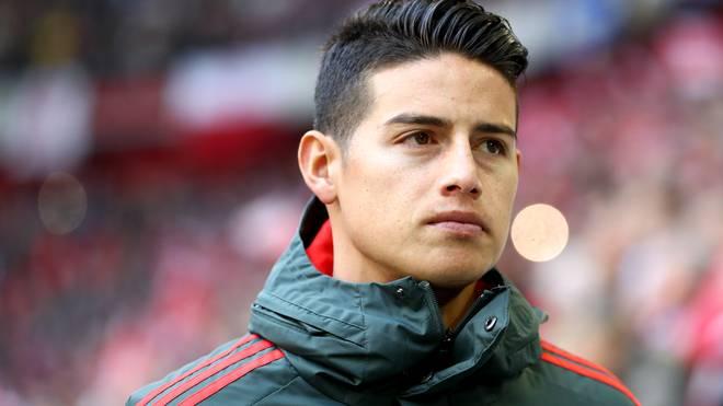 James Rodriguez kämpft in dieser Saison um einen Stammplatz beim FC Bayern