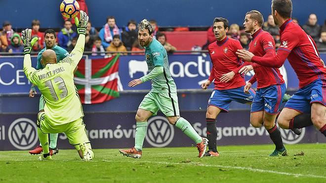 Lionel Messi war erneut bester Spieler beim FC Barcelona