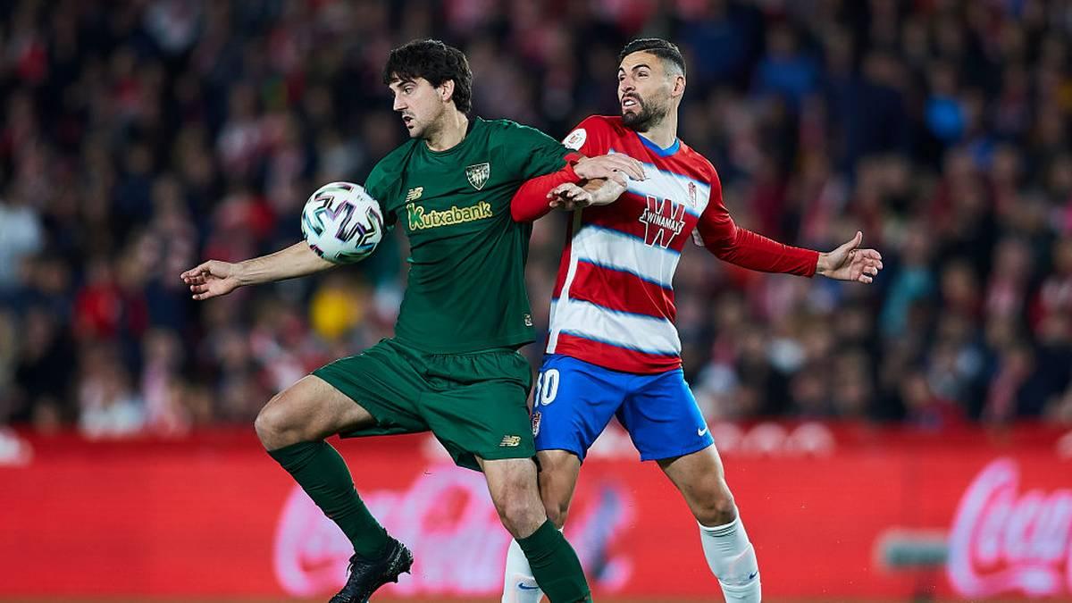 Granada CF und Athletic Bilbao lieferten sich eine umkämpfte Partie