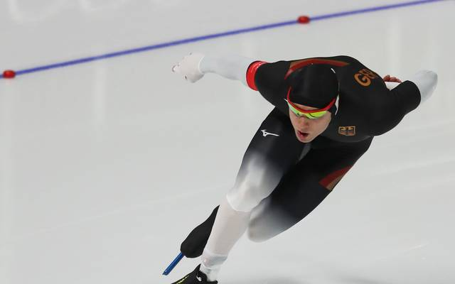 Nico Ihle wurde bei der Eisschnelllauf-EM Fünfter