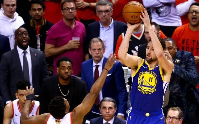 Klay Thompson ist einer der besten Dreierwerfer der NBA