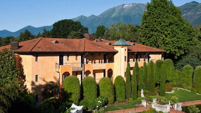 Das deutsche Team schlägt sein Trainingslager im Hotel Giardino Ascona auf