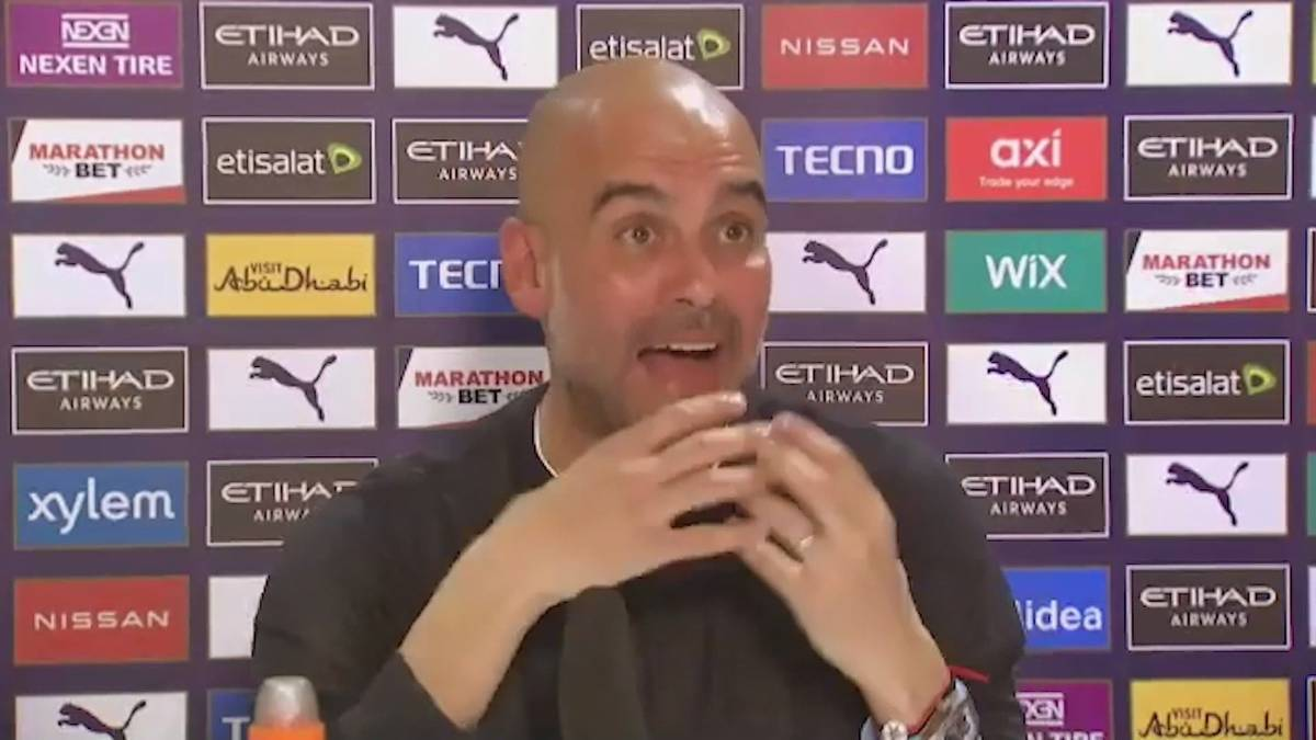 Manchester Citys Trainer Pep Guardiola spricht über die Geldgier im Fußball und verlangt eine Erklärung, warum auch sein Verein der Super League beitreten wollte.