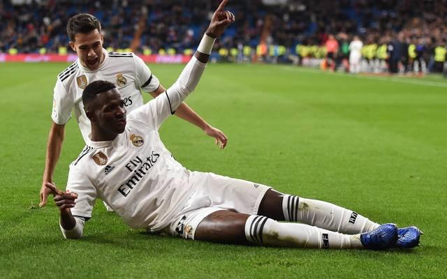 Vinicius Junior erzielte das dritte Tor für Real Madrid