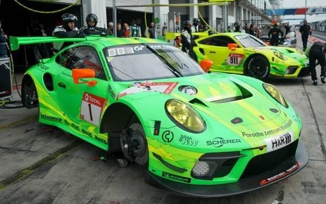 Dem Manthey-Porsche #1 steht im Rennen eine Aufholjagd bevor