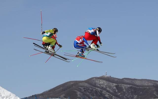 Für Weltcup-Sieger Paul Eckert war bereits im ersten K.o.-Lauf der Skicrosser Endstation