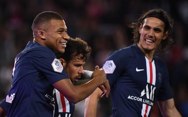 Ligue 1: PSG ohne Neymar schlägt Olympique Nîmes 3:0 - Mbappé trifft
