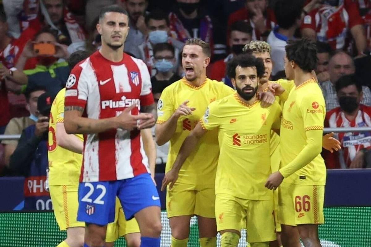 Liverpools Mohamed Salah wurde gegen Atletico Madrid zum Matchwinner