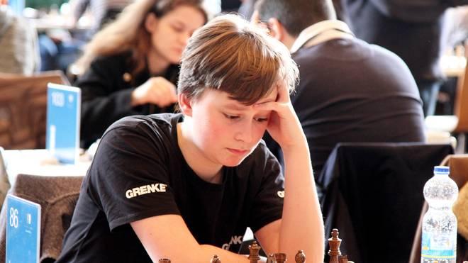 Mit 14 schon im Teilnehmerfeld der Weltklasse: Vincent Keymer