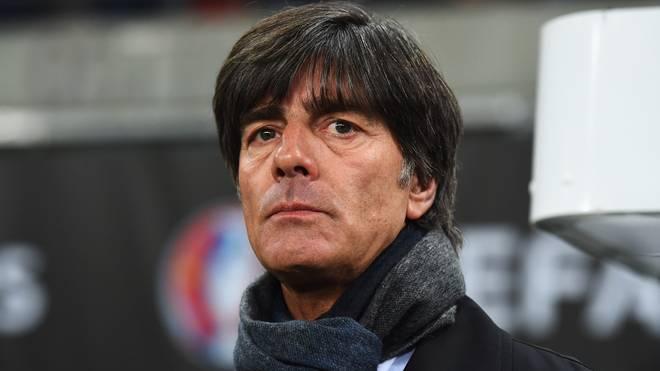Bundestrainer Joachim Löw ist von Wolfgang Niersbachs Unschuld überzeugt
