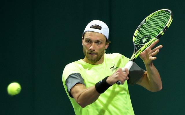 Tennis: Achtelfinale in Sofia mit Struff, Brands und Maden , Daniel Brands scheitert beim ATP-Turnier in Sofia im Achtelfinale