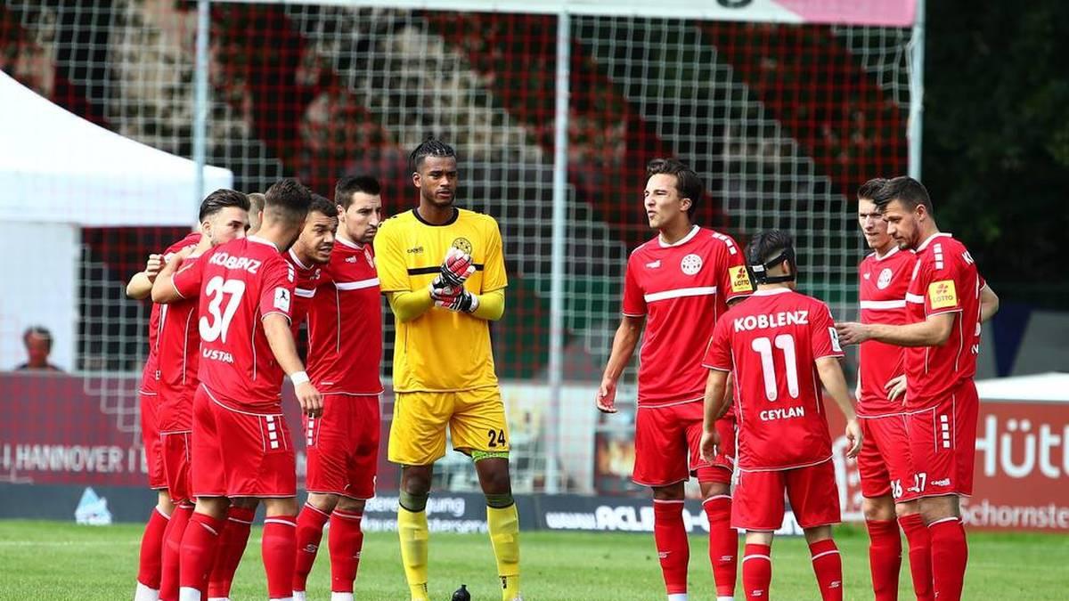 In den kommenden zwei Wochen wird bei Rot-Weiss Koblenz kein Fussball gespielt