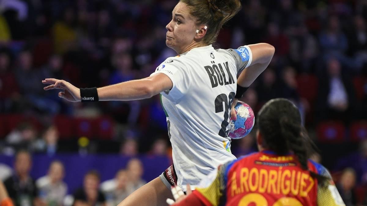 Emily Bölk verhalf mit fünf Treffern maßgeblich zum Sieg