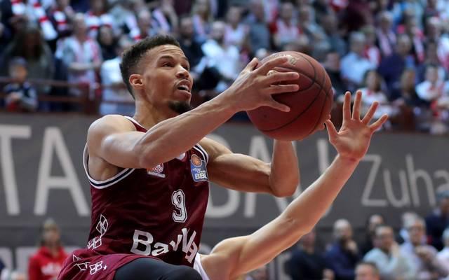 Jared Cunningham war mit 15 Punkten bester Werfer der Bayern-Basketballer