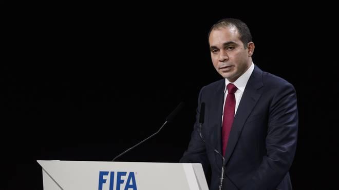 Prinz Ali lässt seine Kandidatur für die FIFA-Spitze noch offen