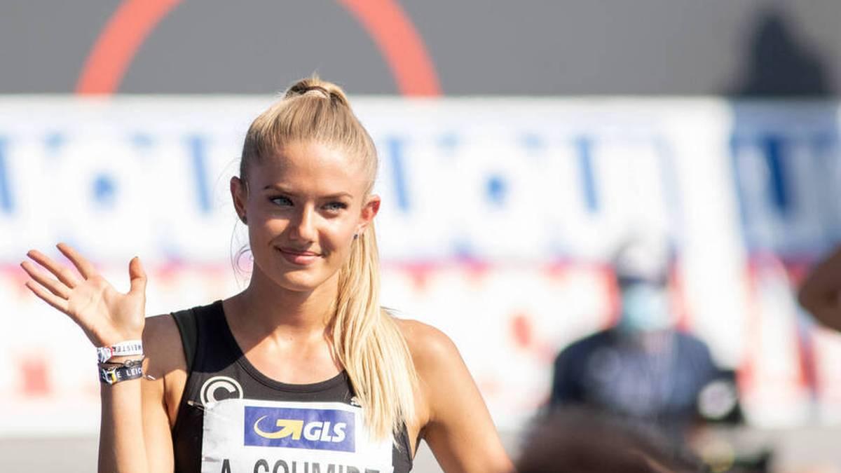 Alica Schmidt (SCC Berlin) glänzte bei den Deutschen Meisterschaften in Braunschweig über 400m mit einer persönlichen Bestzeit