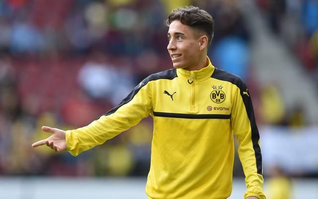 Emre Mor ist bei Borussia Dortmund auf dem Abstellgleis