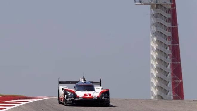 Neel Jani brachte den Porsche #1 mit seiner Rundenzeit an die Spitze