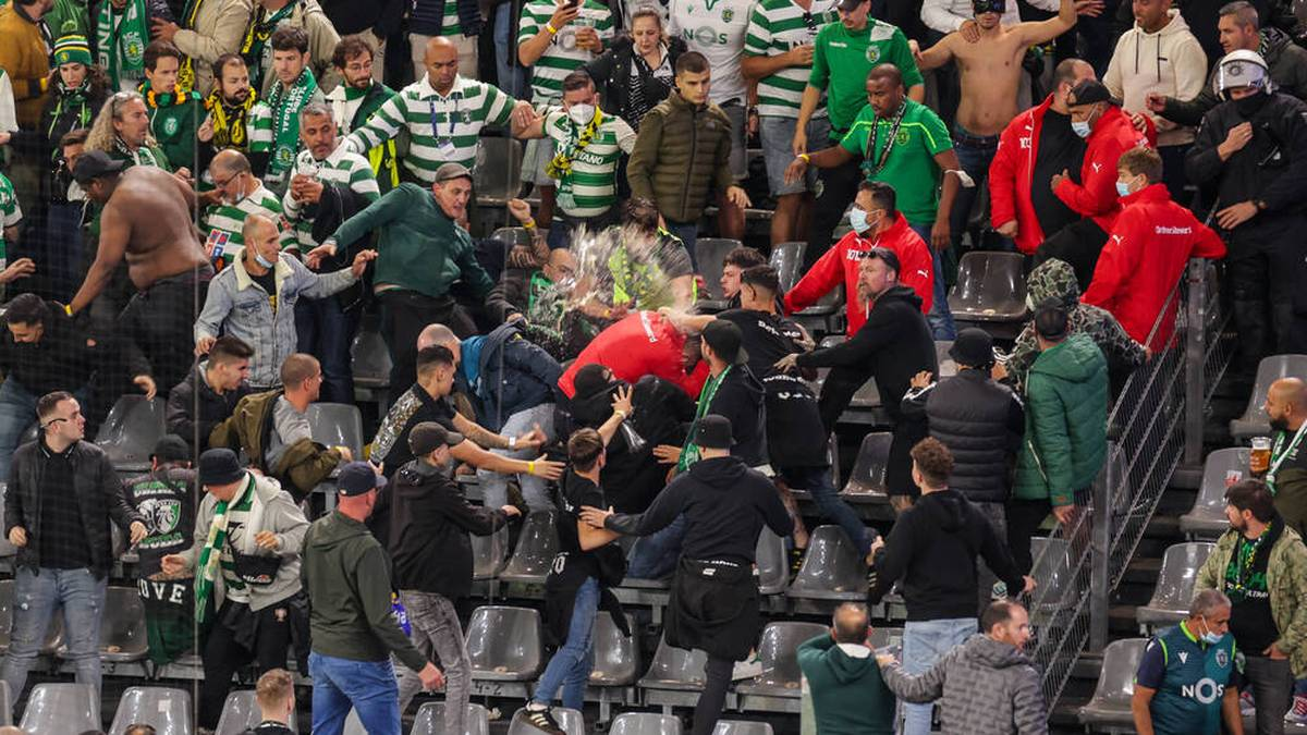 Sporting-Fans randalieren in Dortmund