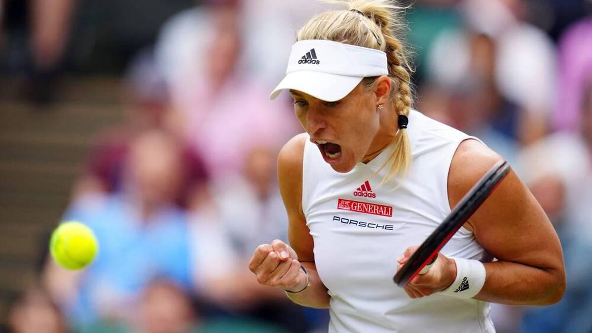 Angelique Kerber ist die einzige verbliebene Wimbledon-Titelträgerin im Draw