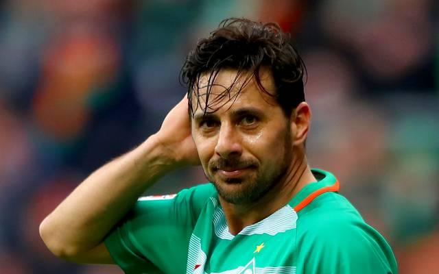 Claudio Pizarro stand bis Sommer bei Werder Bremen unter Vertrag