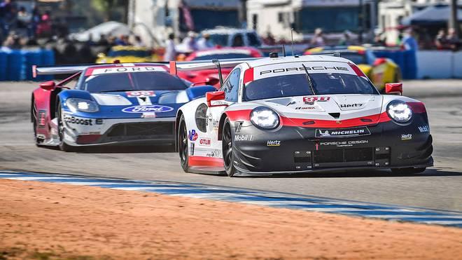Porsche sicherte sich in der GTLM-Klasse den ersten Sieg 2018