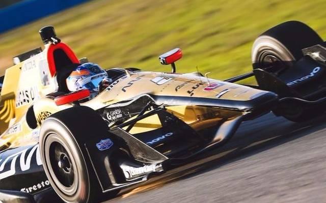 Robert Wickens probierte in Sebring den IndyCar-Boliden zum ersten Mal aus
