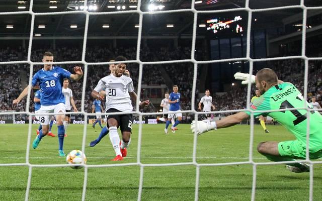 Serge Gnabry traf doppelt gegen Estland