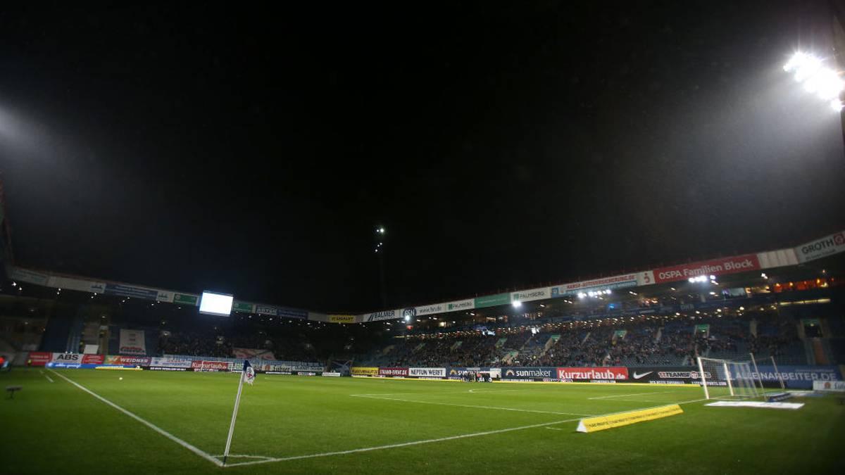 In der Dritten Liga wie hier bei Hansa Rostock könnten offenbar viele Englische Wochen ins Haus stehen