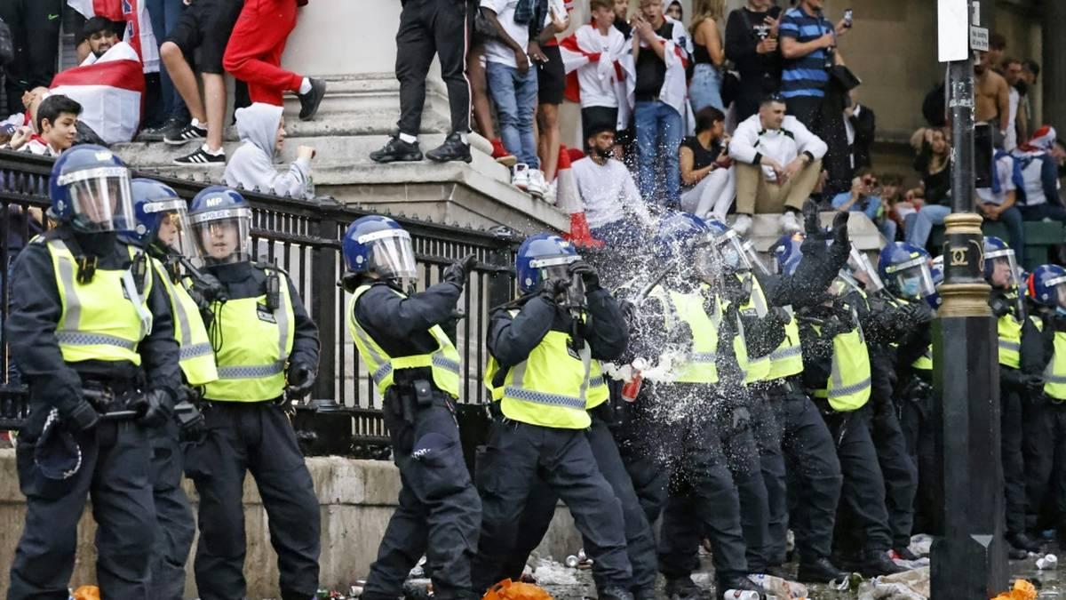 Wembley-Sturm: Polizei weist Versagen von sich