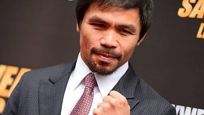 Manny Pacquiao konzentriert sich aktuell nicht nur auf seinen kommenden Gegner.