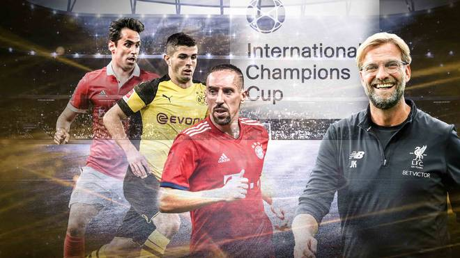 FC Bayern und Borussia Dortmund - LIVE SPORT1 beim International Champions Cup 2018
