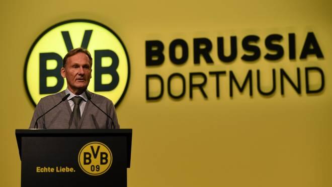 Hans-Joachim Watzke konnte Steigerungen beim Umsatz und operativen Gewinn bei Borussia Dortmund vermelden