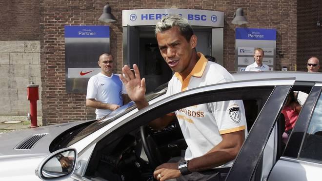 Marcelinho  lief von 2001 bis 2006 für Hertha BSC auf