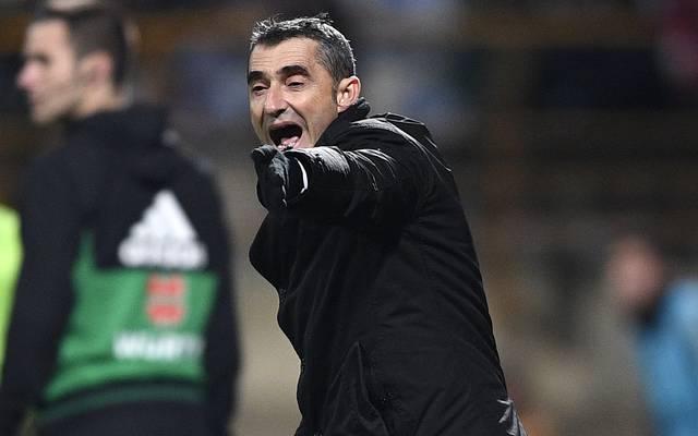 Ernesto Valverde ist mit dem Verhalten von Pep Guardiola im Transferwerben um Frenkie de Jong nicht einverstanden