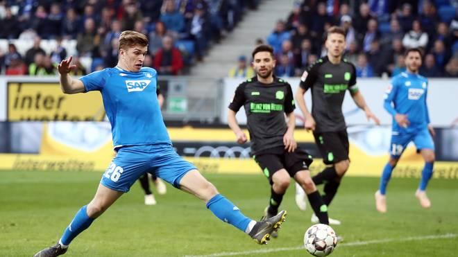 Youth League: TSG Hoffenheim gegen FC Porto LIVE im TV und Stream, David Otto (links) kam bereits für Hoffenheim in der Bundesliga zum Einsatz