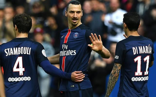 Zlatan Ibrahimovic erzielte gegen Caen seine Saisontore 31 und 32 in der Ligue 1