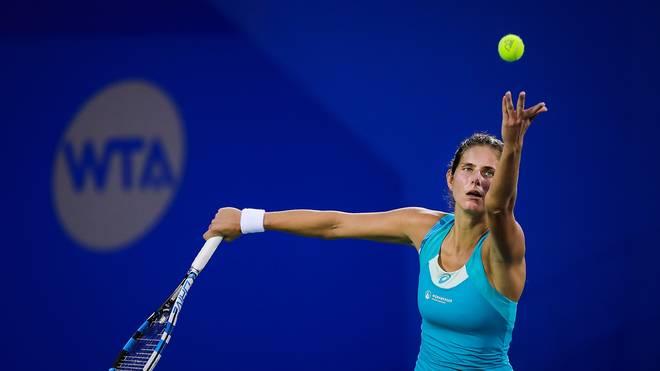 Julia Goerges gewinnt auch die zweite Runde im WTA-Turnier in Moskau souverän und steht nun im Viertelfinale
