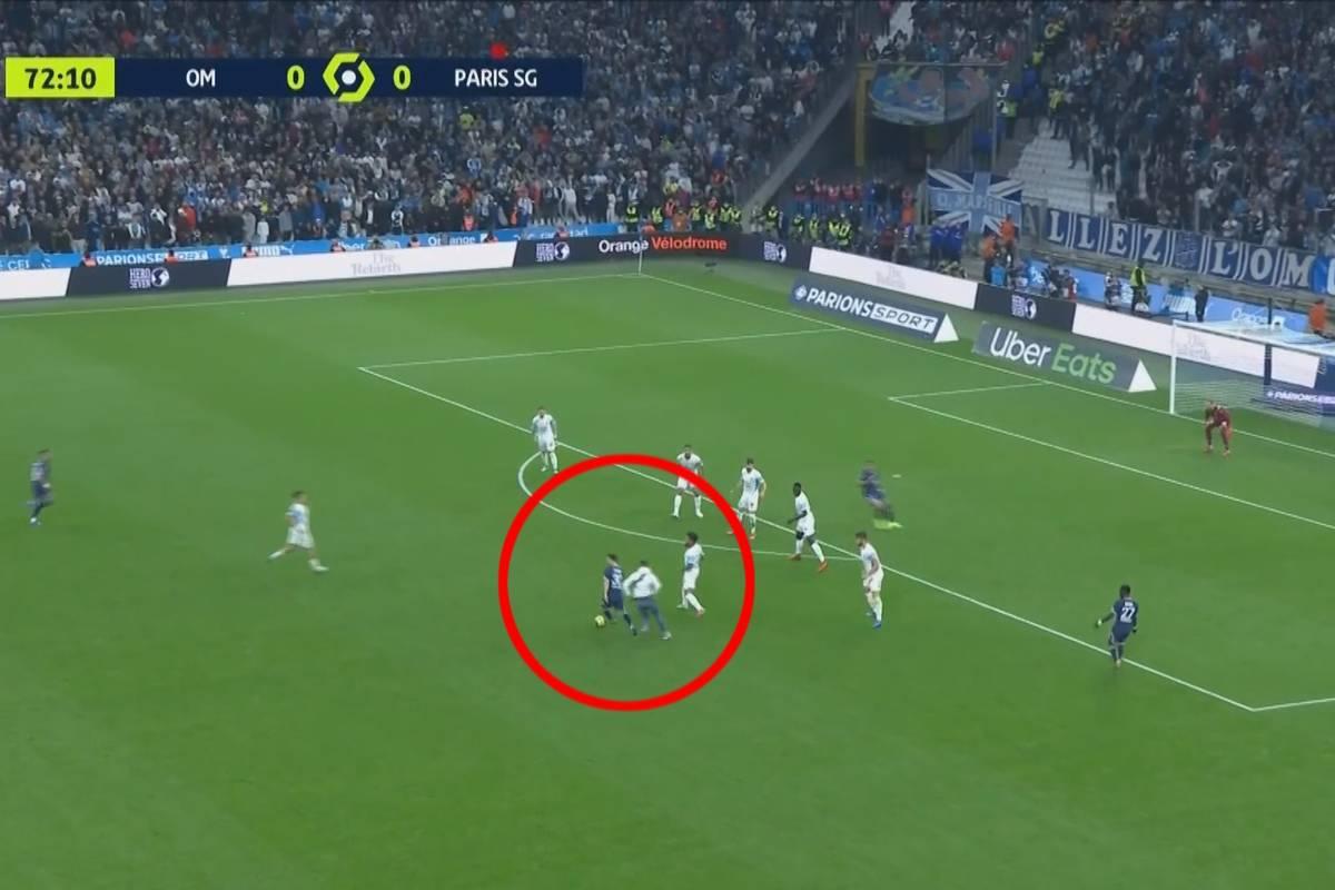 Im Video: Marseille-Fan will Messi an den Kragen!