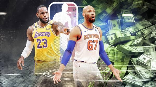 Die wertvollsten Teams der NBA im Ranking