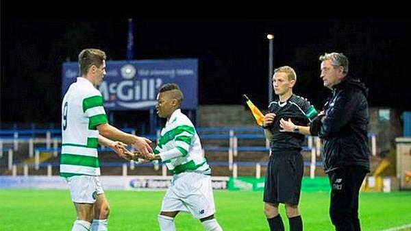 Wunderkinder im Fußball - KARAMOKO KADER DEMBELE (Celtic Glasgow)