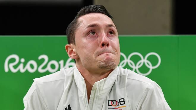 Andreas Toba zog sich am ersten Olympia-Tag eine Knieverletzung zu