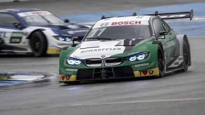 Marco Wittmann holte bei Regen seine elfte DTM-Pole-Position