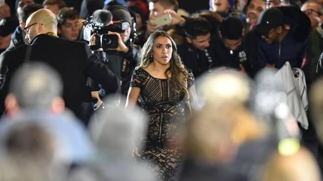Die Brasilianerin Marta wurde 2018 zur FIFA-Weltfußballerin gekürt
