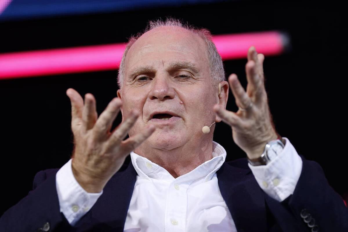 Im Fall Lucas Hernández hat Uli Hoeneß eine klare Meinung. Auch zu seiner Veganer-Aussage bezieht der FCB-Ehrenpräsident Stellung.