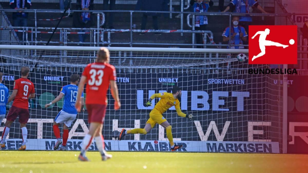 Der 1. FC Köln schafft dank eines Torfestivals über die Relegation den Klassenerhalt. Besonders die erste Viertelstunde gegen Holstein Kiel ist mit vier Toren ein Spektakel.