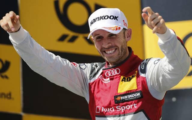 Freut sich über die Führung in der DTM-Fahrerwertung: Audi-Pilot Rene Rast